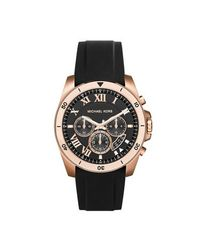 Michael Kors - Black Mk8436 Mens Strap Watch for Men - Lyst