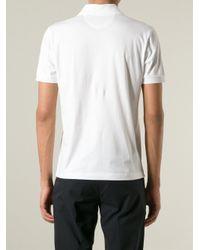 Fendi - White Bug Print Polo Shirt for Men - Lyst