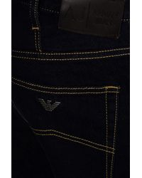 Armani Jeans | Blue J91 Regular Fit Rinse Wash Jeans for Men | Lyst