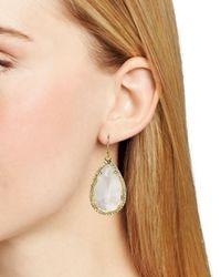 kate spade new york | Metallic Day Tripper Pavé Earrings | Lyst