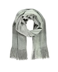 Forever 21 | Gray Fringed Oversized Plaid Scarf | Lyst