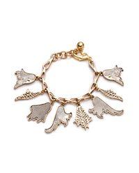 Lulu Frost | Metallic Delirium Charm Bracelet | Lyst