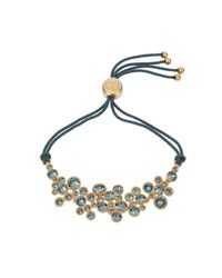 Caroline Creba | Blue 18ct Gold Plated Titania Friendship Bracelet | Lyst