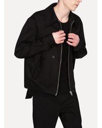 Yang Li - Black Harrington Jacket for Men - Lyst