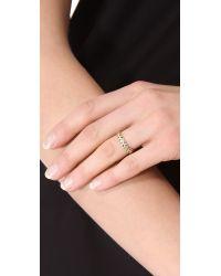 Jamie Wolf - Metallic Black Diamond Filigree Ring - Gold - Lyst