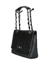 Lanvin | Black 'happy' Shoulder Bag | Lyst
