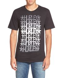 Hurley - Black 'Haze X Stecyk - Premium' Graphic T-Shirt for Men - Lyst