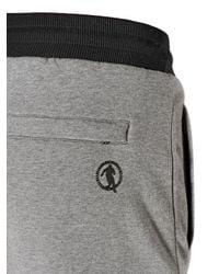 Dirk Bikkembergs | Black Stretch Cotton Jogging Pants for Men | Lyst
