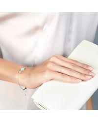 Astley Clarke | Blue Milky Aqua Quartz Oval Stilla Bracelet | Lyst