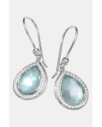 Ippolita | Metallic 'stella' Small Teardrop Earrings | Lyst