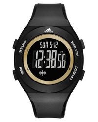 Adidas Originals - Black 'yur' Digital Watch for Men - Lyst
