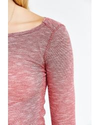 BDG - Red Layer Up Tee - Lyst