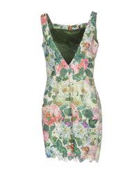 Adele Fado - Green Short Dress - Lyst
