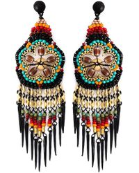 Gas Bijoux | Multicolor 'Huichol' Earrings | Lyst