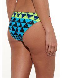 Mara Hoffman - Multicolor Geometric-Print Bikini Briefs - Lyst