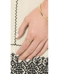 House of Harlow 1960 | Metallic Arid Ring - Gold | Lyst