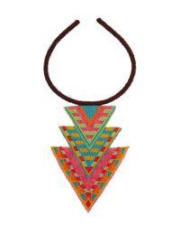 Mara Hoffman | Black Spirit Necklace | Lyst