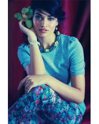 Anthropologie - Green Embark Earrings - Lyst