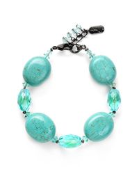 Dabby Reid | Blue Shell Bead Bracelet - Turquoise | Lyst