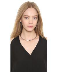 Amber Sceats - Metallic The Bentley Necklace - Silver/pearl - Lyst
