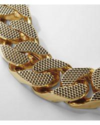 AllSaints | Metallic Teneil Necklace | Lyst