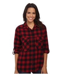 Sanctuary | Red Boyfriend Shirt | Lyst