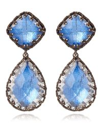Larkspur & Hawk - Large Blue Jane Earrings - Lyst