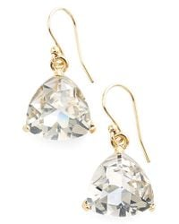 Kate Spade | Metallic 'twinkle Lights' Drop Earrings - Glass Stone/ Gold | Lyst