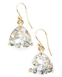 kate spade new york | Metallic 'twinkle Lights' Drop Earrings - Glass Stone/ Gold | Lyst