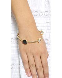 kate spade new york - Multicolor Twinkle Lights Bangle Bracelet - Neutral Multi - Lyst
