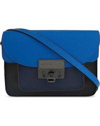 Marc By Marc Jacobs Blue Lip Lock Cross-Body Bag - For Women
