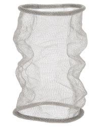 Christian Koban   Gray Cocoon Woven Bracelet   Lyst