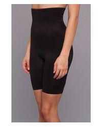Tc Fine Intimates | Black Even More® Triple-ply Midriff Hi-waist Thigh Slimmer 499 | Lyst