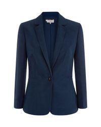 Hobbs | Blue Daniella Jacket | Lyst