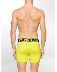 Calvin Klein | Yellow Underwear Intense Power Micro Boxer Brief for Men | Lyst