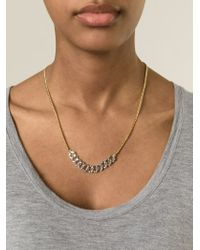 Marc By Marc Jacobs - Metallic 'katie' Chain Necklace - Lyst