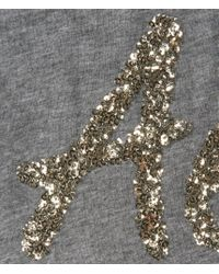 Aéropostale | Gray Aero Sequin Graphic T | Lyst