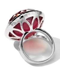 Ippolita | Red Sterling Silver Wonderland Large Eggcup Ring In Peony Doublet | Lyst