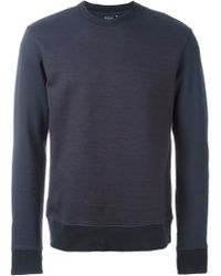 PS by Paul Smith | Blue Crew Neck Sweatshirt for Men | Lyst