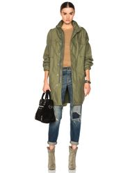 NLST | Green Oversized Desert Jacket | Lyst