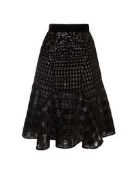 Mary Katrantzou - Black Avon Skirt - Lyst