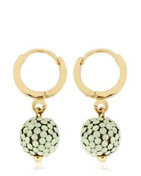 Isabel Marant - Green The Party Earrings - Lyst