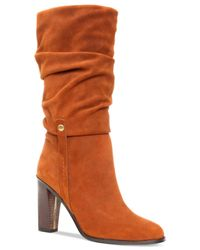 Donald J Pliner - Brown Donald J Pliner Odessa Mid-shaft Boots - Lyst