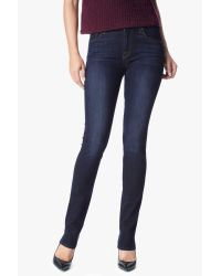 7 For All Mankind Slim Illusion Kimmie Straight In Tried & True Blue