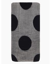Kate Spade | Black Gigantic Swiss Dot Tight | Lyst