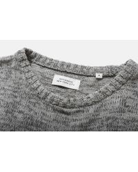 Saturdays NYC - Gray Everyday Marled Knit for Men - Lyst
