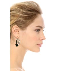Lulu Frost | Metallic Lumen Earrings - Black Multi | Lyst
