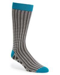 Ted Baker | Gray 'contrast Spot' Socks for Men | Lyst