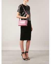 Vivienne Westwood - Pink Maddox Leather Shoulder Bag - Lyst