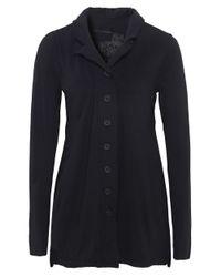 Rundholz | Black Frill Back Jersey Jacket | Lyst